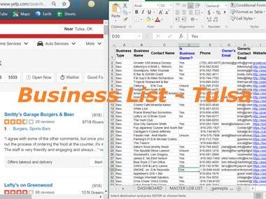 Business List - Tulsa (USA)