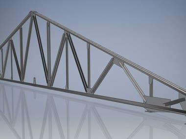 18m welded frame