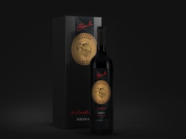 Bunda & Leeu Wine Labels