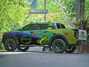 Van / Car / Pickup warping Design.