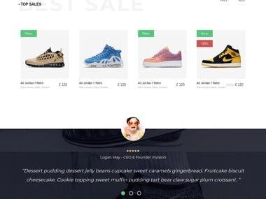 Shoes eCommerce