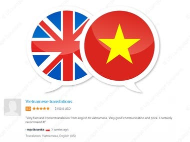 English to Vietnamese Translation