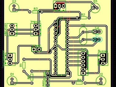 Schematic and PCB