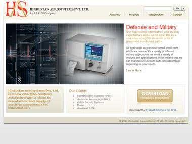 Product development Website