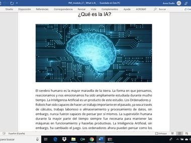 IA (Artificial Intelligence)