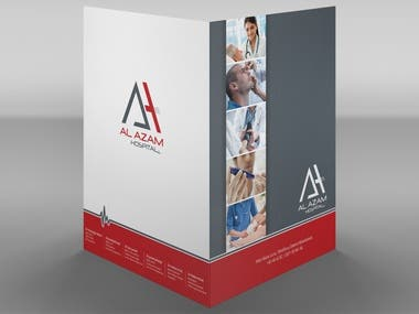 Al-Azam Hospital Folder