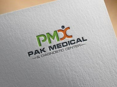 PMDC Logo Design