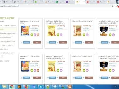 Daamwala Php website