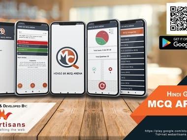 Android App Design - MCQ Arena
