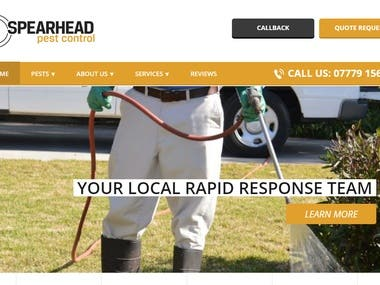 Pest removal and pest control services