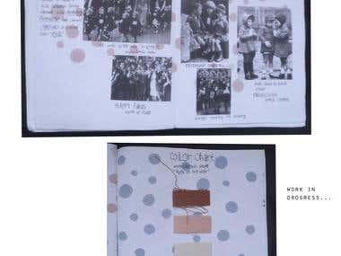 Children of the war- kids collection (fabrics-illustration)