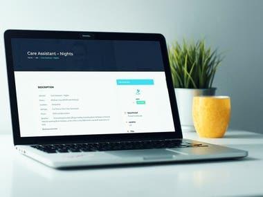 i4 Jobs Website