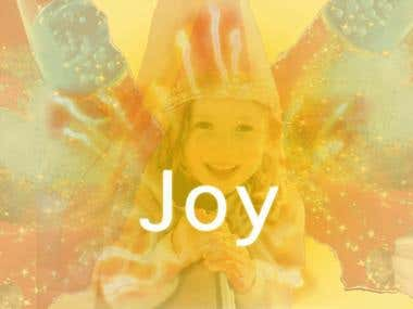 Color Theory Concept: Joy