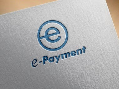 Logo design for e-payment.