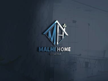 Logo design for Malhi Home Consultants.