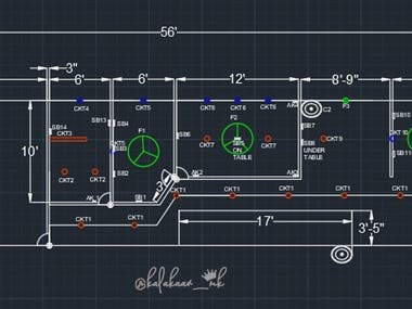 auto cad industry plans