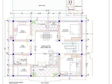 2d floor design