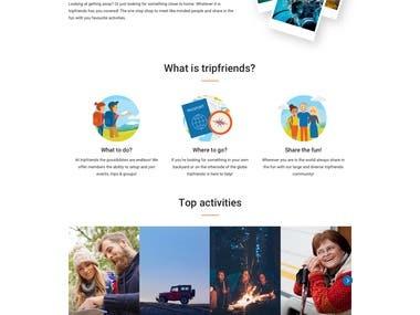 Travels & community web
