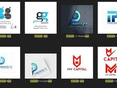 Winning Logos, Illustrations & Brand Identity