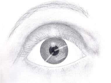 Self Portrait: Eye