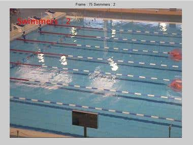 Swimmer Detection in a pool