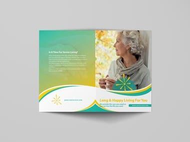 4 page Bi fold Brochure