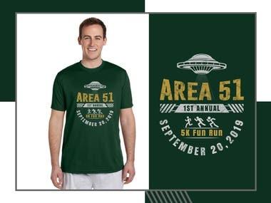 Area 51first annual fun run 2019