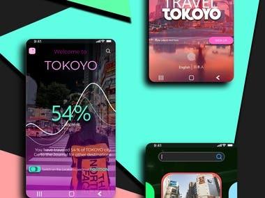 TRAVEL TOKOYO mobile app
