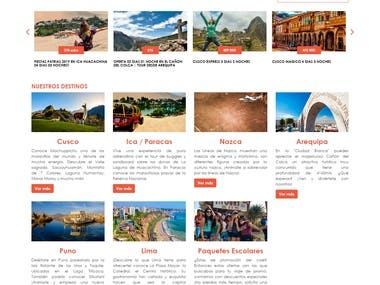 travelexpress theme y funciones wordpress