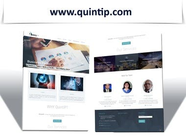 QuintIP.com Website is Developed For Consulting Company