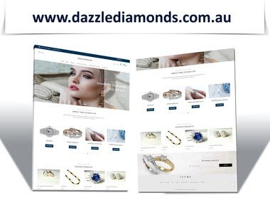 WooCommerce Website For Diamond Jewellery Store