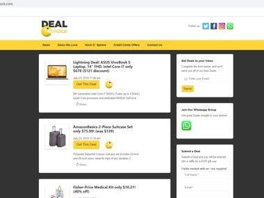Woocommerce-shopping site