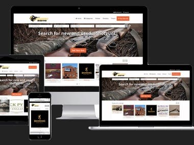 Shooting website