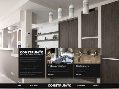 Construmax | Totaalprojecten Badkamers Keukens Tegelwerken S