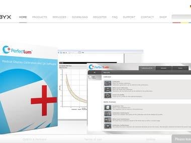 QUBYX DICOM Calibration Software