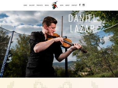 Daniel Lazar website