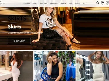 Online clothing store for women (UK market)