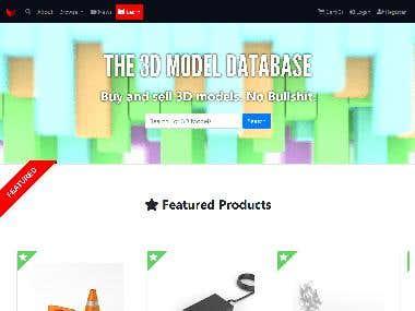 3D Model Database