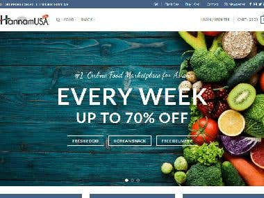 Hannamusa - Online Food Marketplace