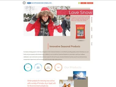 Presentation website for ScootWood industries