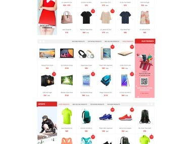 Christmas Christmas Ecommerces web site (Angular)