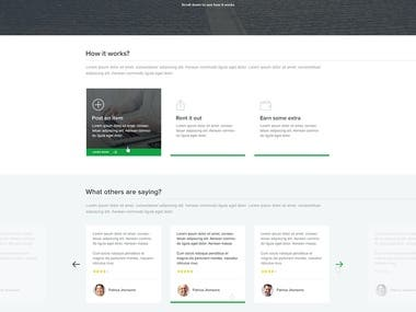 Web Design for Byngle