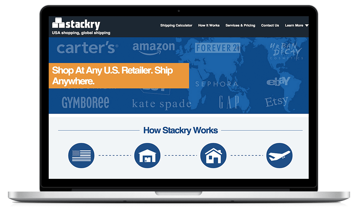 Stackry Global shipping platform