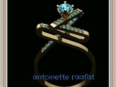 Jewelry Designer 3dcad Diamond & gold
