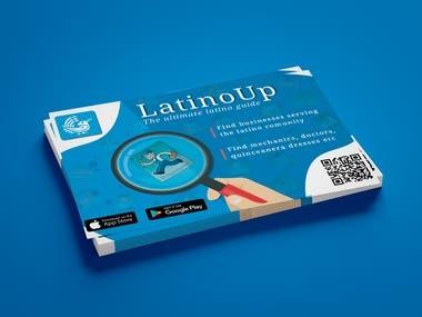 Flyer for mobile app