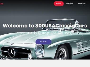 USA CLASSIC CARS WEBSITE