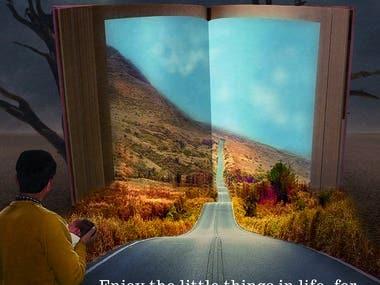 """""""Live life"""" Quote"""
