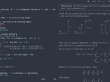 Latex Writing and Mathematics Equation