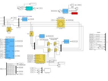 MATLAB - Simulink Model of Electrical System