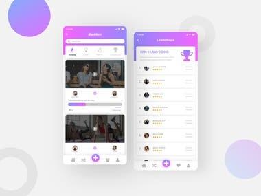 Social Media Video App